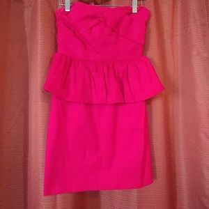 Hot pink dress forever 21 size small